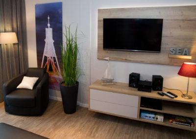 Wohnzimmer Medienwand